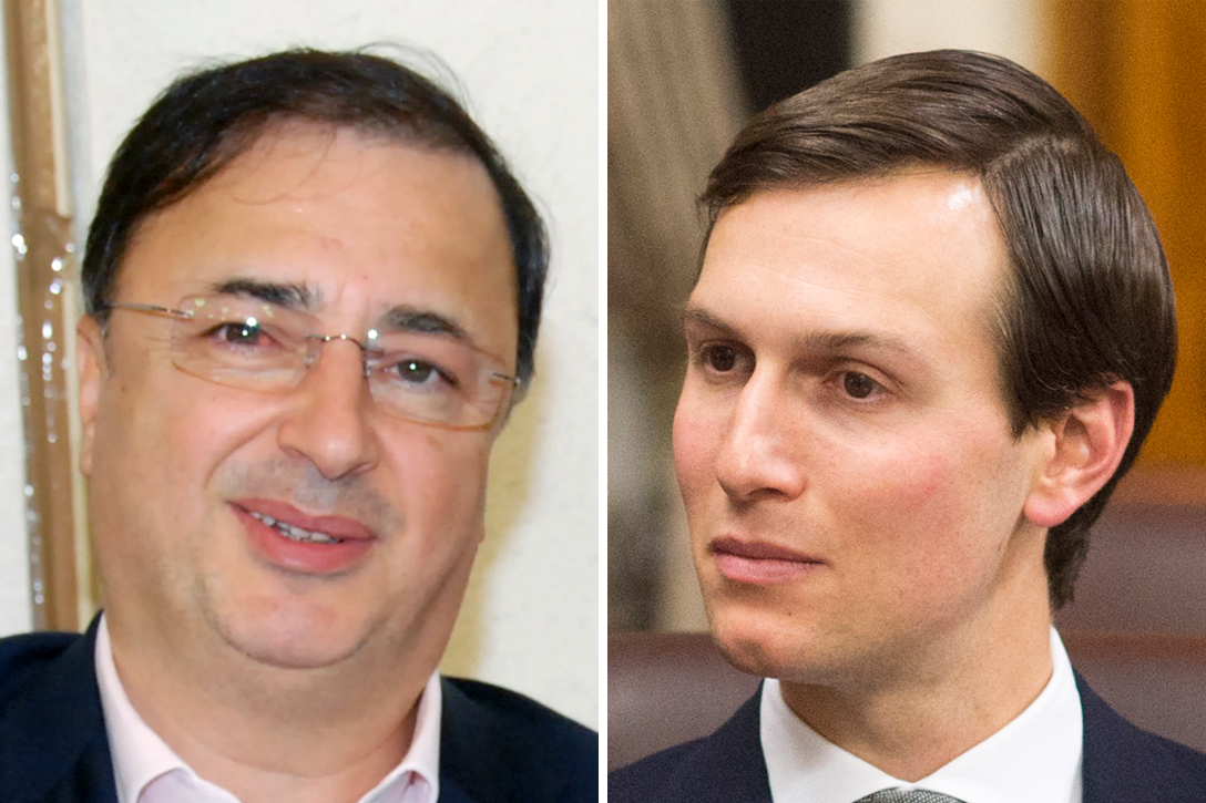 Image result for Lev Leviev and Jared Kushner
