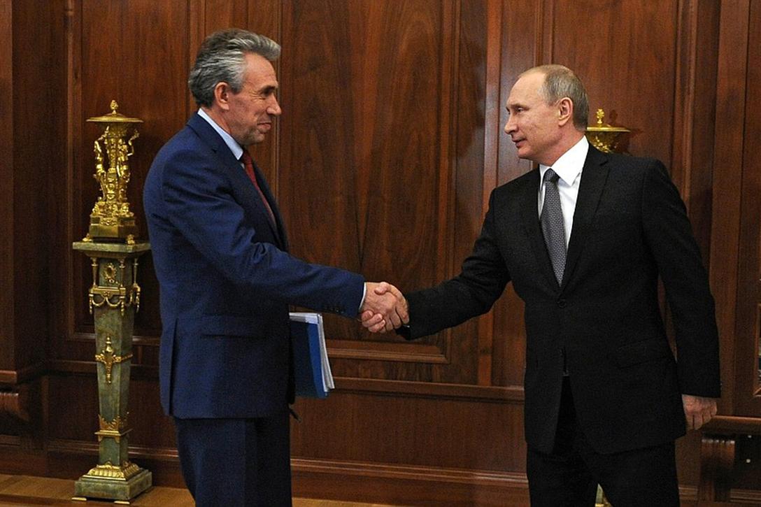 Sergei Gorkov, Vladimir Putin