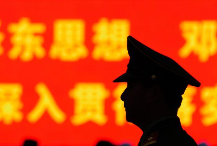 China, police, pre-crime