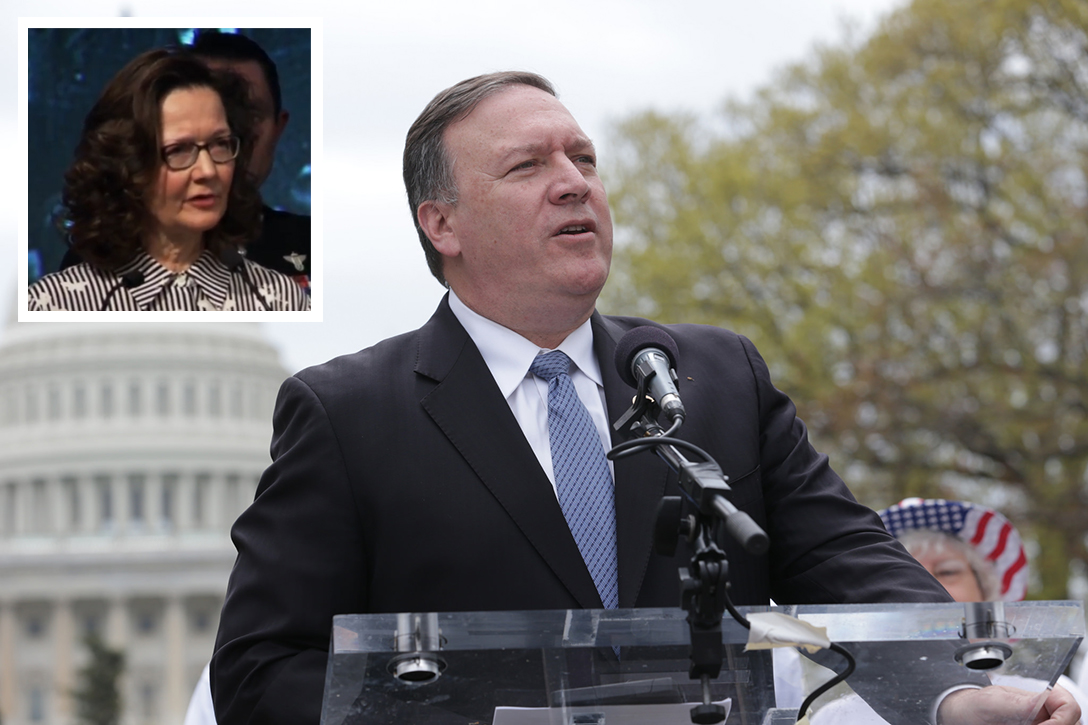 Mike Pompeo,Gina Haspel