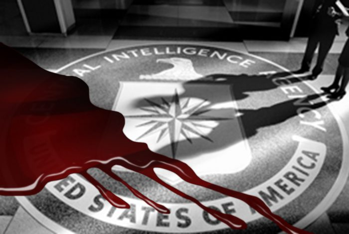 CIA, blood, lobby