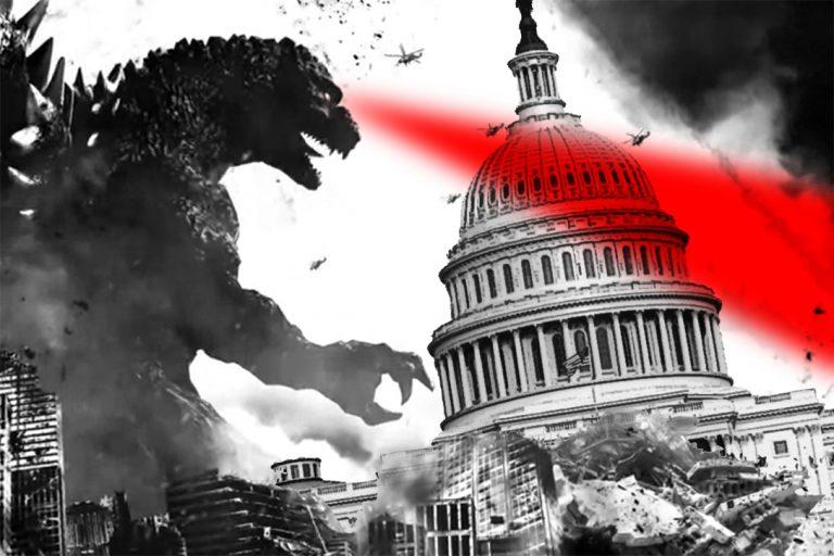 Godzilla, US Capitol