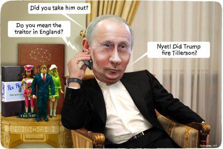 Vladimir Putin. Donald Trump