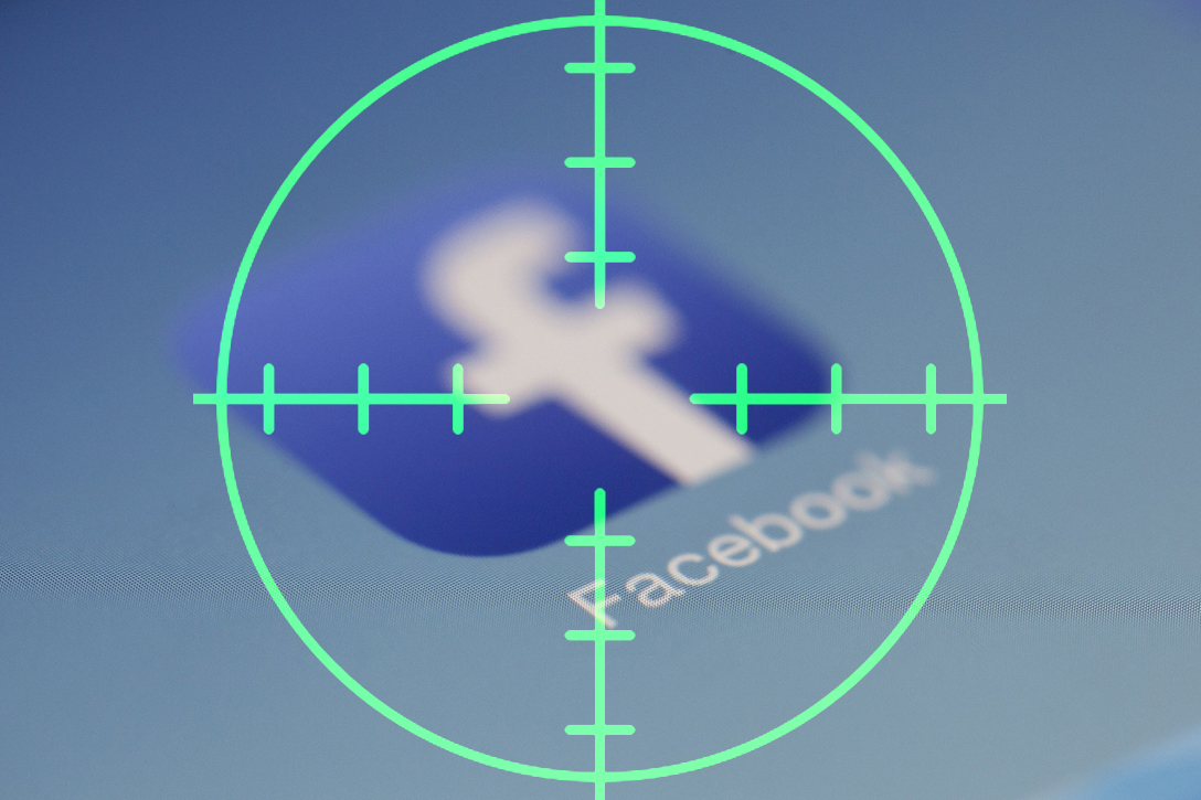 Facebook, crosshairs