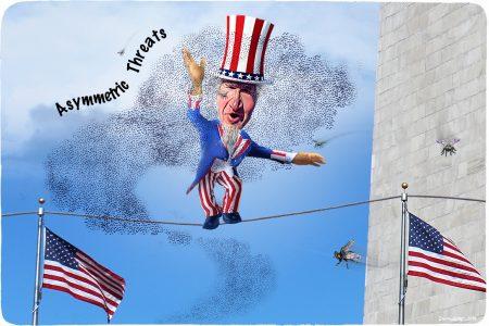 Uncle Sam, tightrope