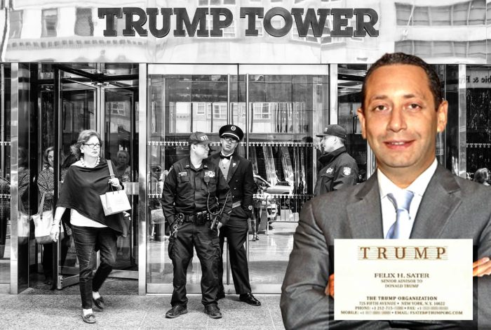 Felix Sater, Donald Trump