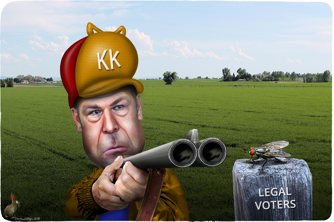 Kris Kobach, voter disenfranchisement