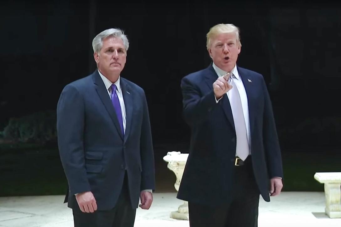 Kevin McCarthy, Donald Trump