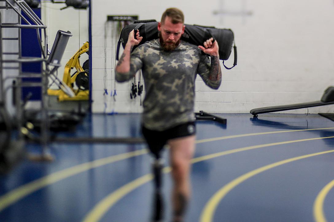 veteran, work out