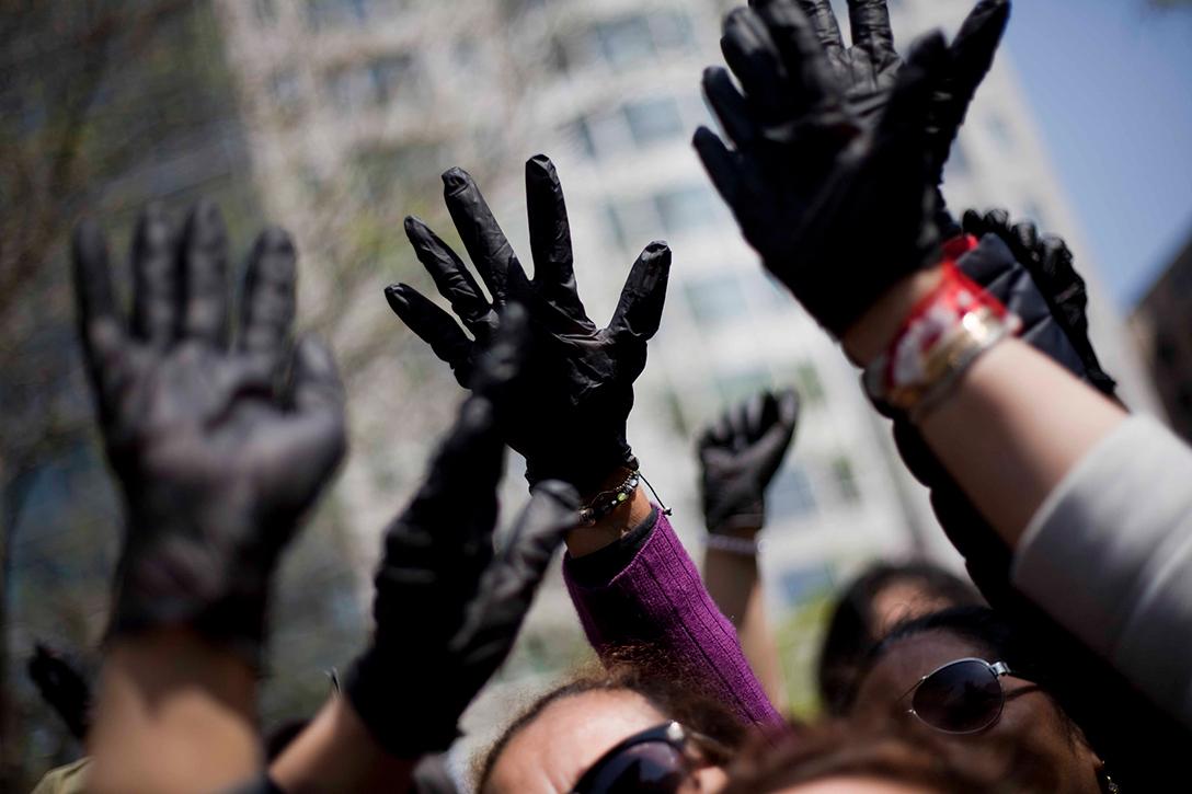 Ecuador, Chevron, protest