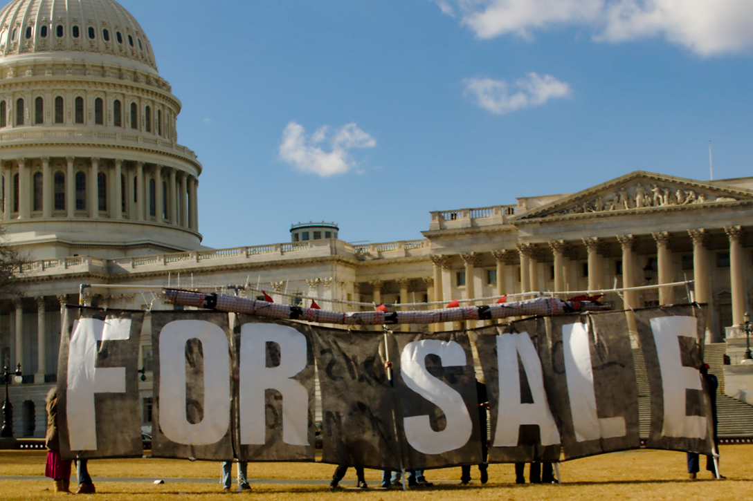 government for sale, US Capitol