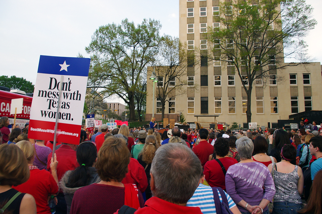 Planned Parenthood, rally