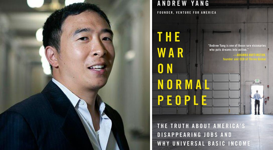 Andrew Yang, The War on Normal People