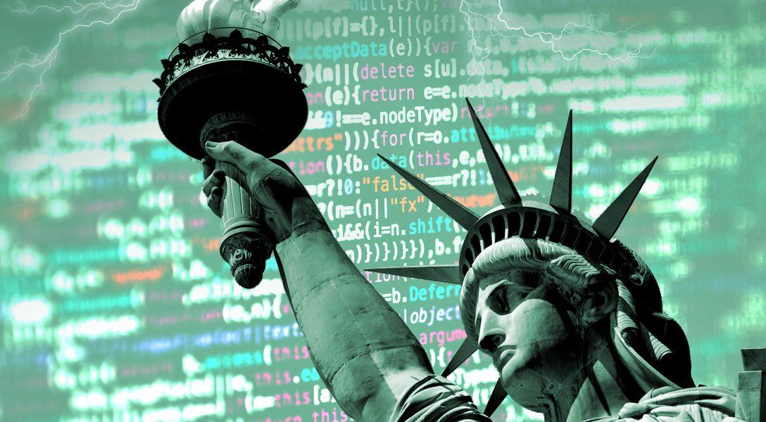 Statue of Liberty, code
