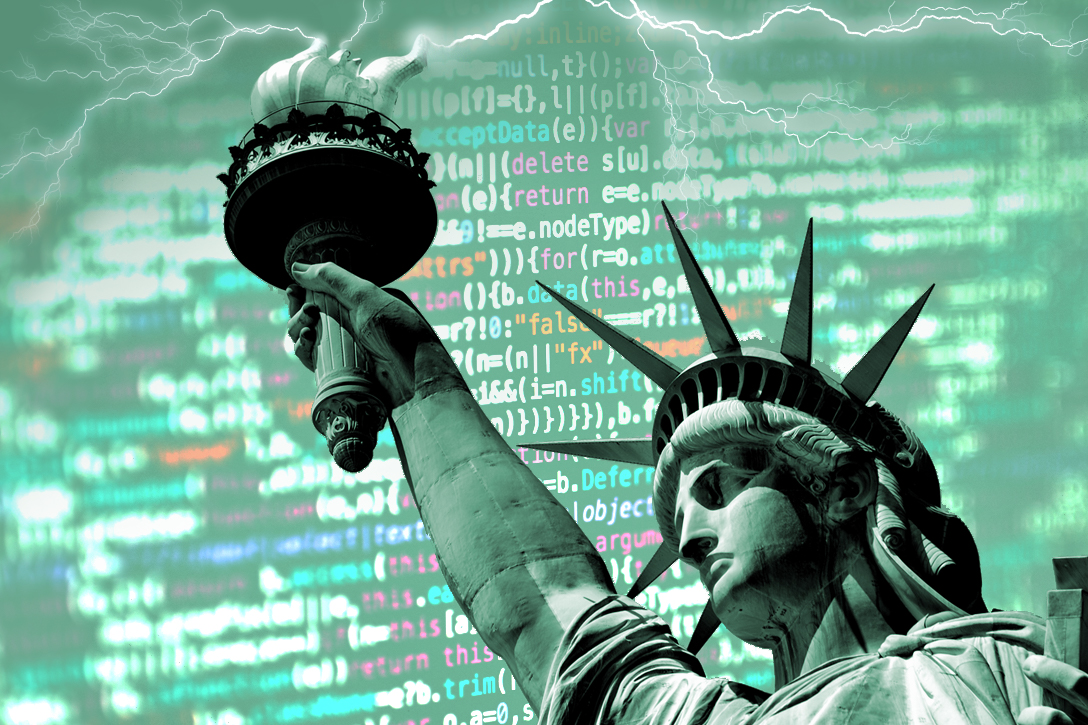 Statue of Liberty, code