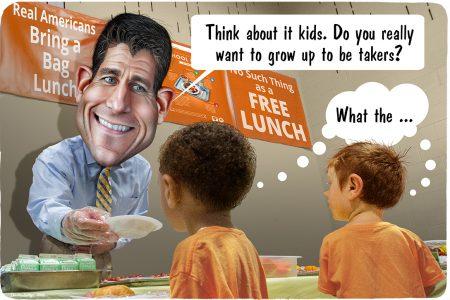 Paul Ryan, takers vs. makers
