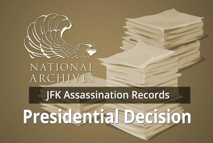 JFK, Donald Trump, National Archives