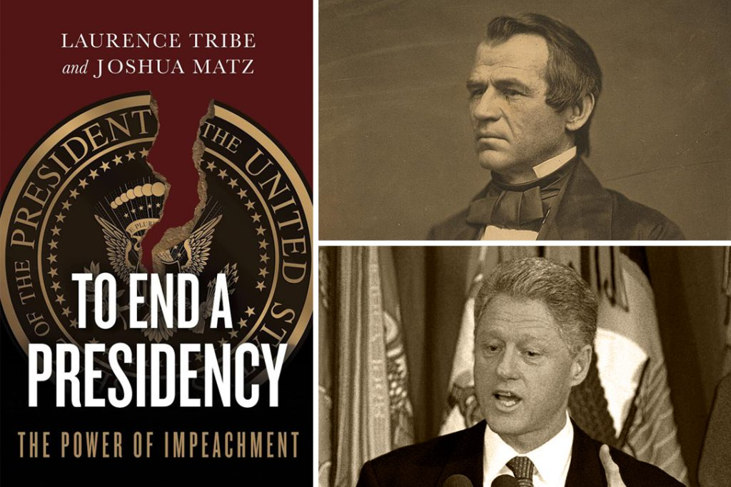 To End a Presidency, Andrew Johnson, Bill Clinton