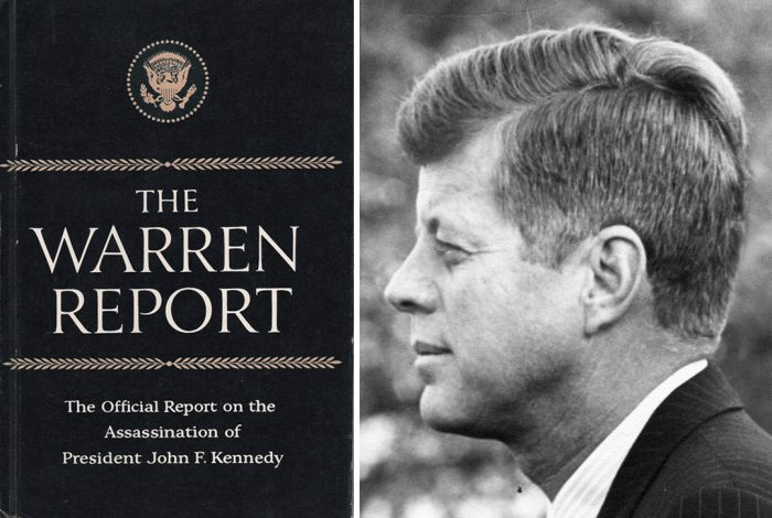 The Warren Report, John F. Kennedy