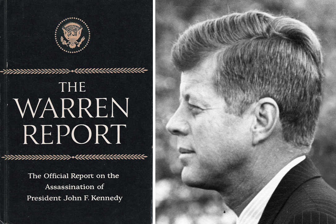 the warren commission a look into the assassination of president john f kennedy Dramatic behind-the-scenes maneuvering preceded president lyndon b johnson's naming of the warren commission to investigate the nov 22, 1963, assassination of president john f kennedy.