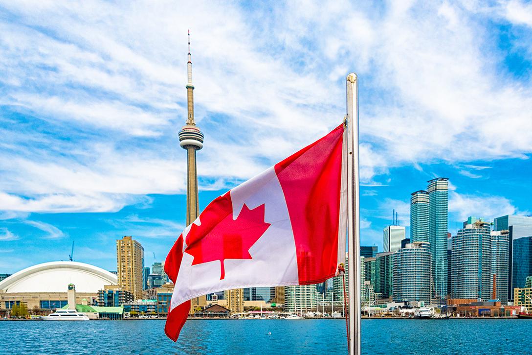 Toronto, Canada, flag