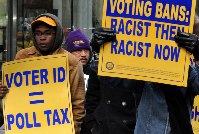 voter ID equals poll tax