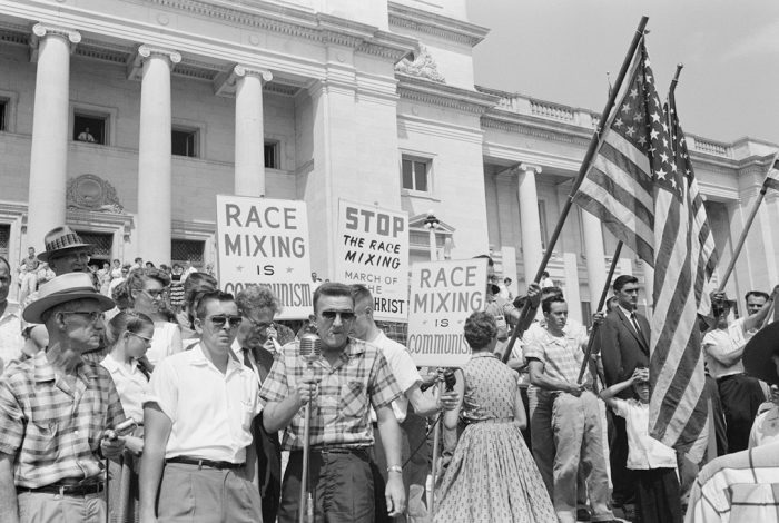 Little Rock, integration protest, 1959