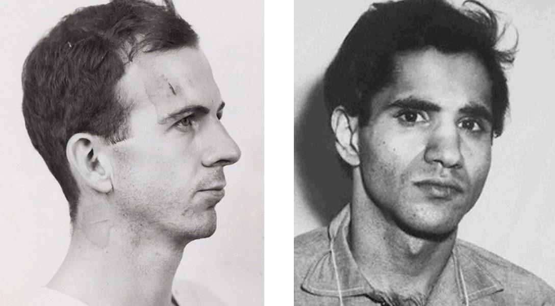 Lee Harvey Oswald, Sirhan Sirhan, mugshot
