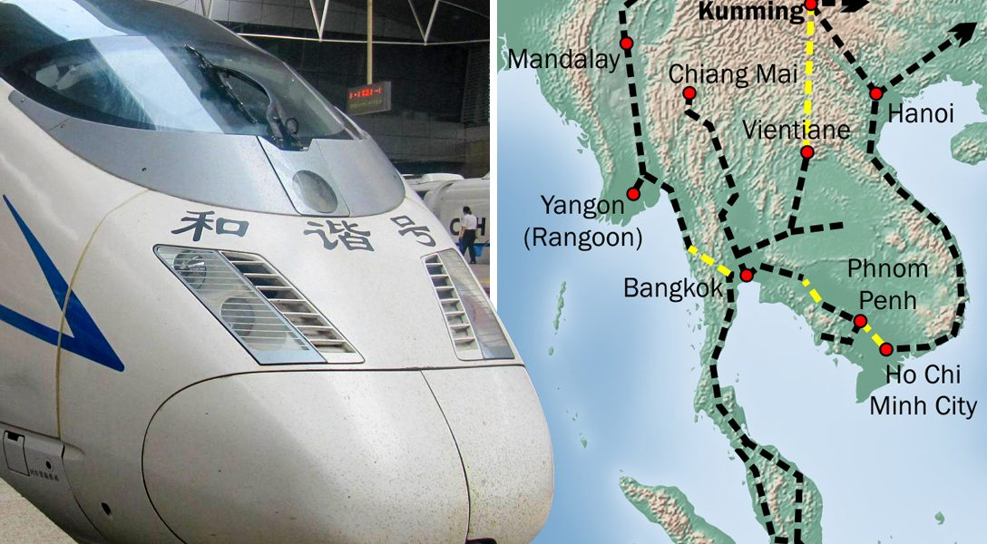 High-Speed Empire, China, train