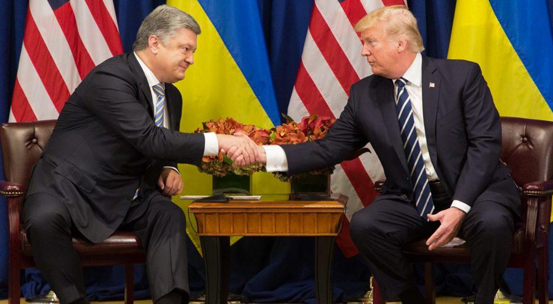 Donald Trump, Petro Poroshenko