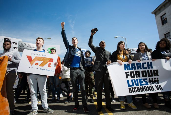 March For Our Lives, voter registration