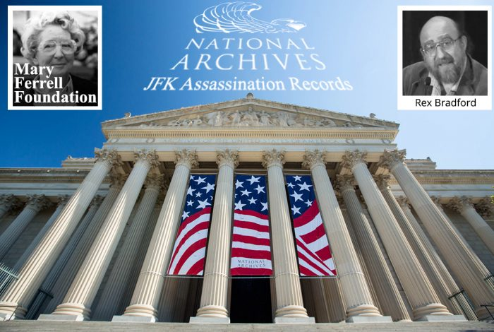 Mary Ferrell, National Archives, Rex Bradford