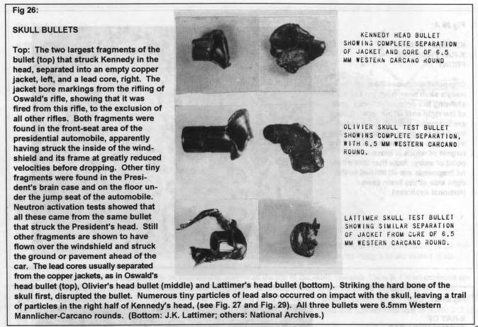 JFK, Skull Fragments