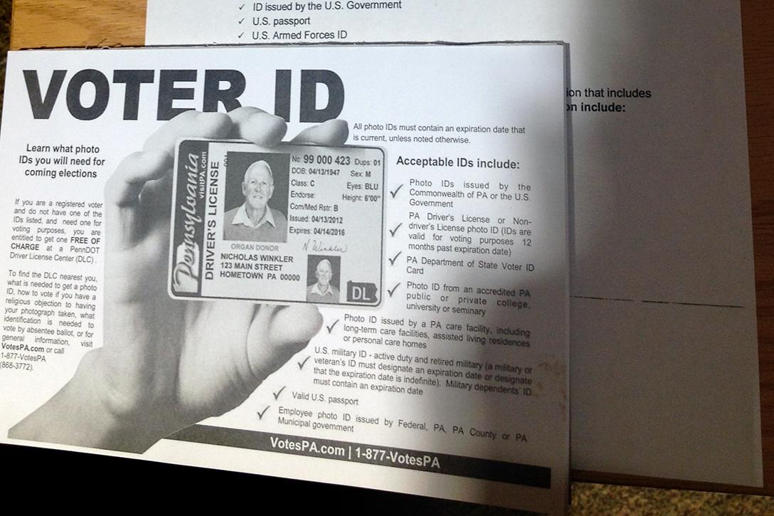 voter ID information