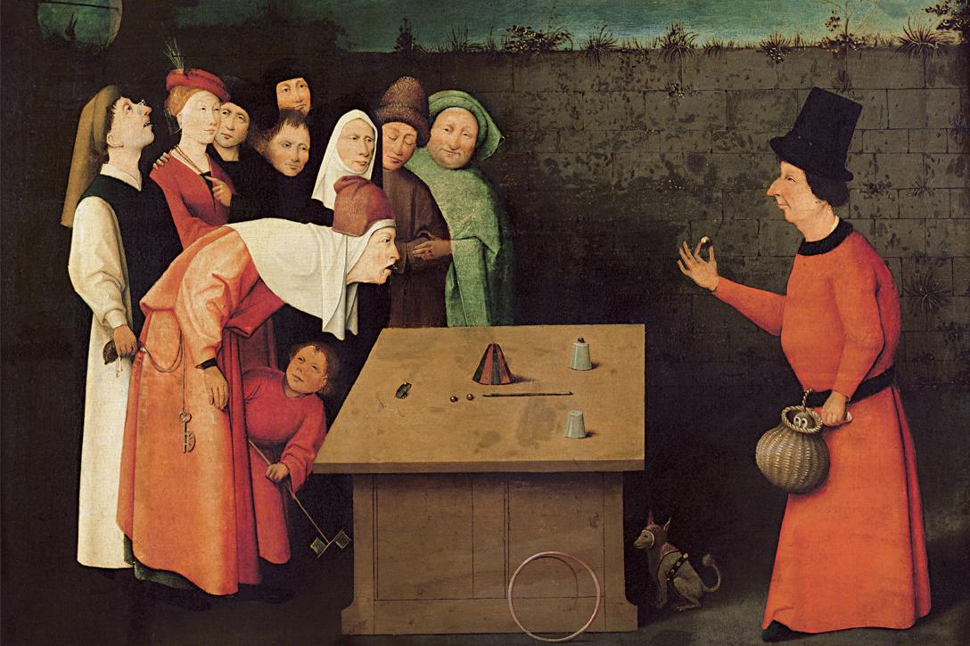 The Conjurer, Hieronymus Bosch