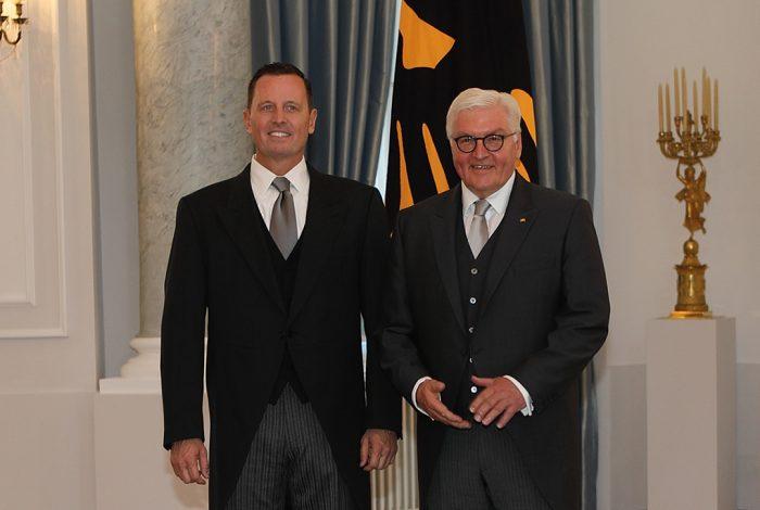 Ambassador Richard Grenell, German President Frank-Walter Steinmeier