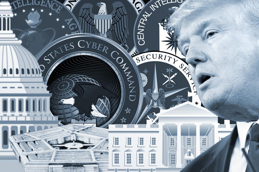 Deep State, Donald Trump