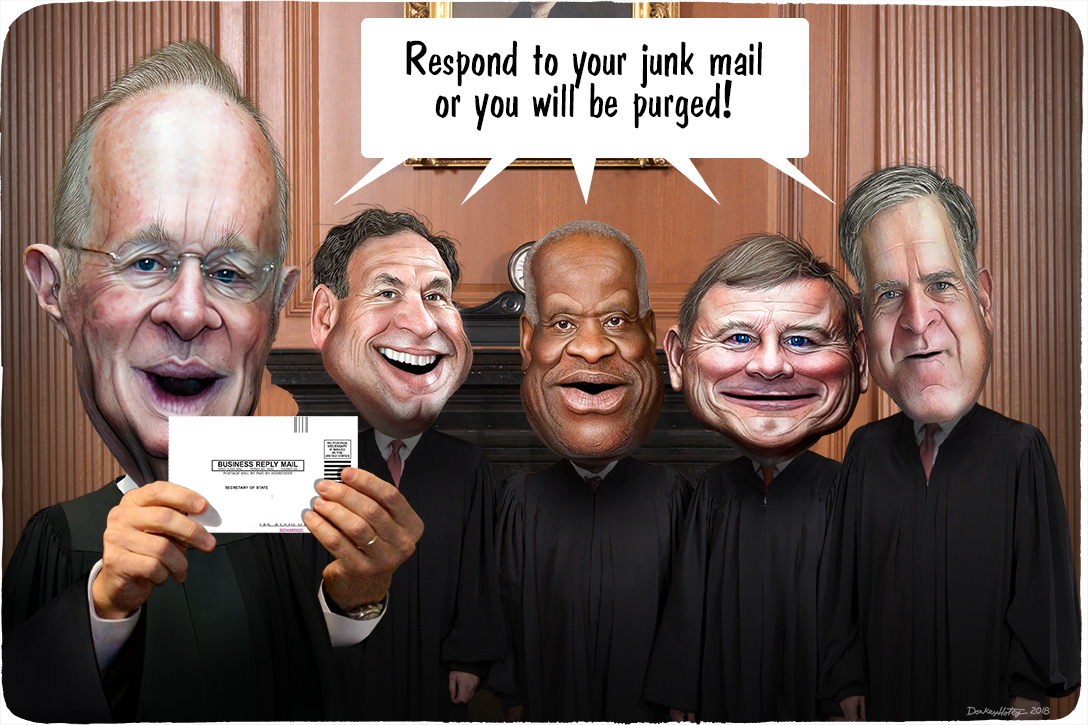 US Supreme Court, voter purging