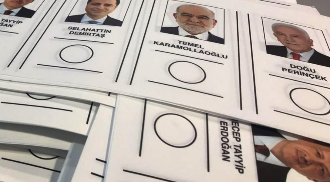 2018 Turkish presidential election ballot