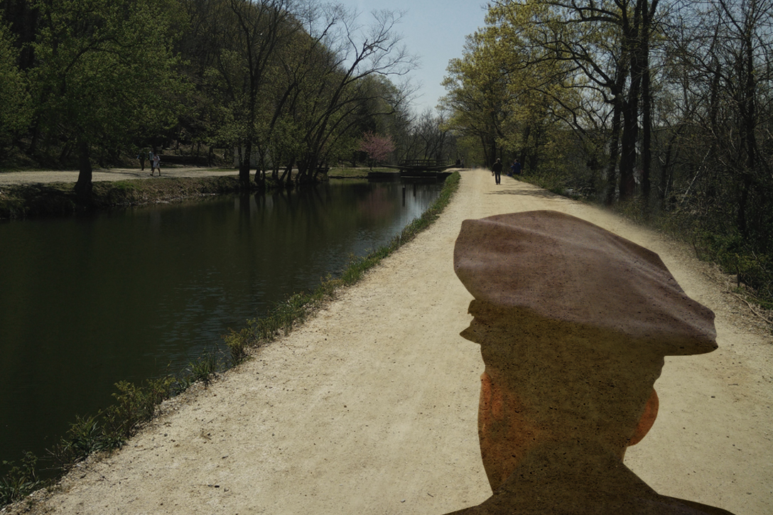 C&O Canal, police officer