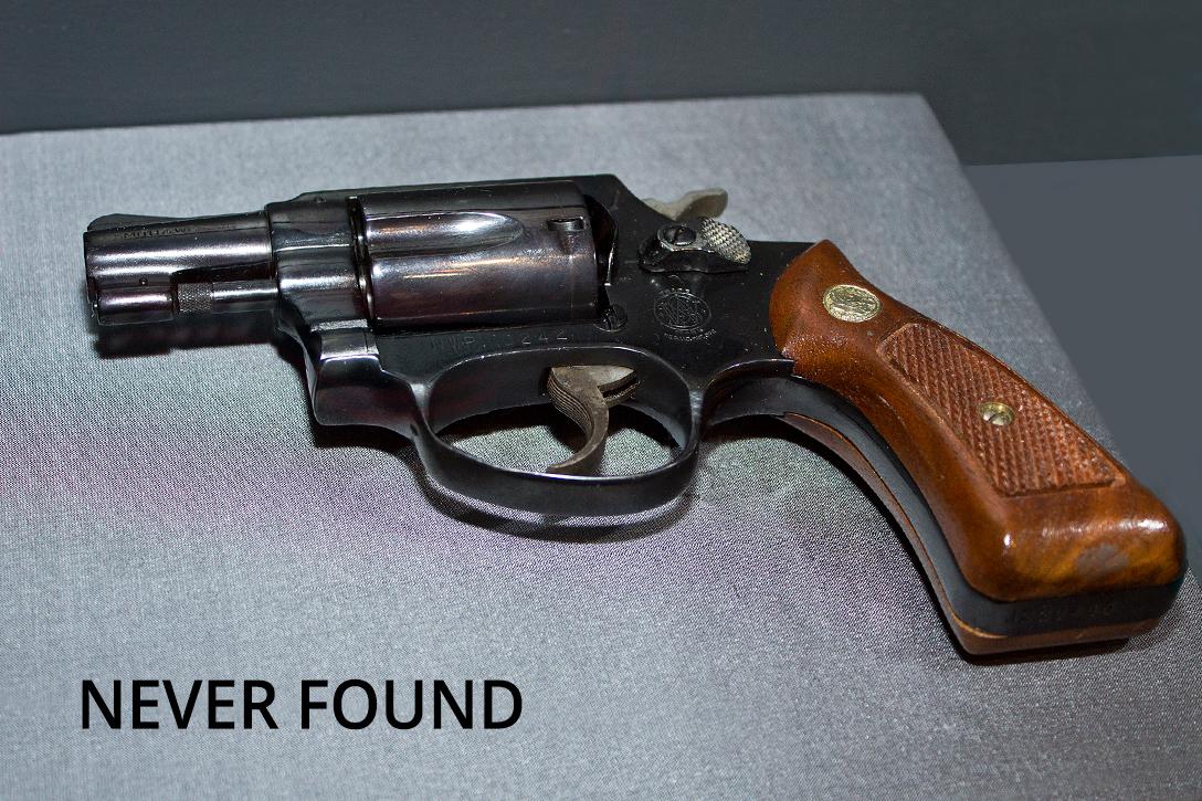 .38 caliber revolver