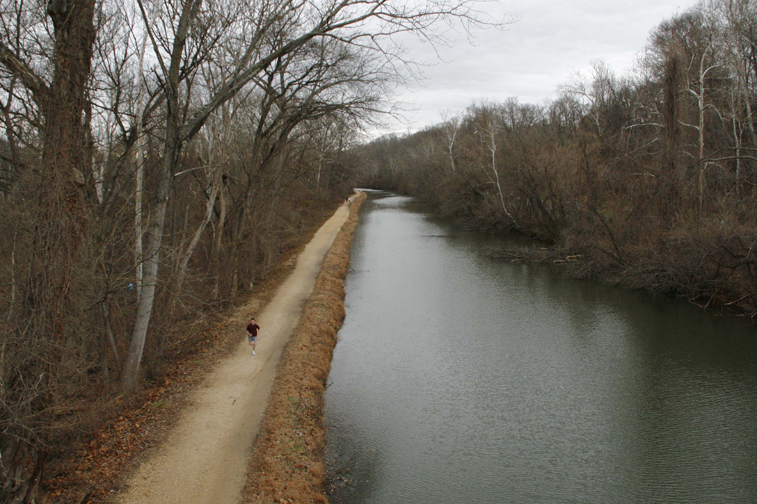 C&O Canal. towpath