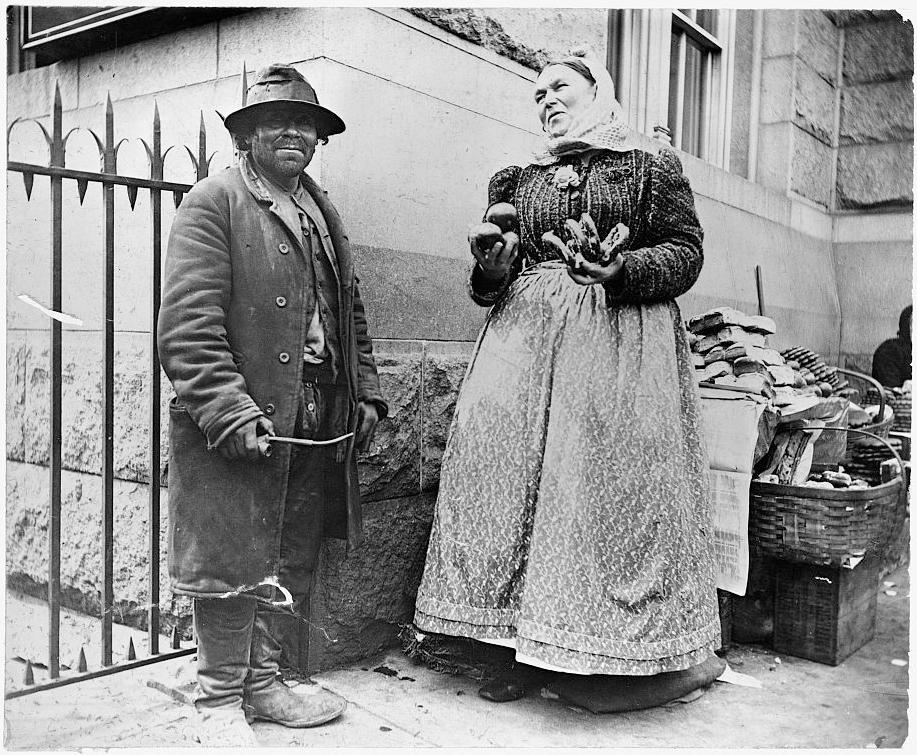 immigrant, pretzel vendor, New York City