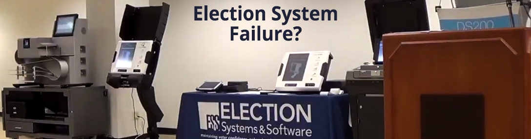 voting system failure