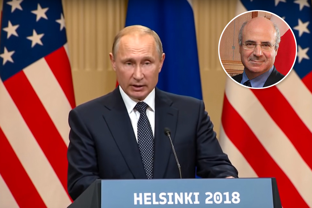 Vladimir Putin. Bill Browder