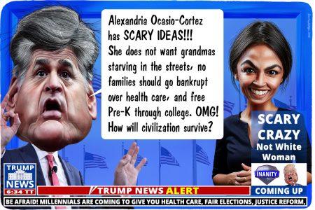Sean Hannity, FOX, Alexandria Ocasio-Cortez