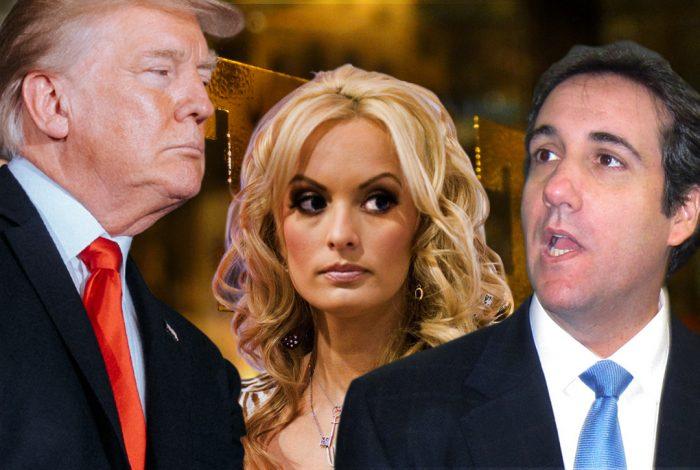 Donald Trump, Stormy Daniels, Michael Cohen