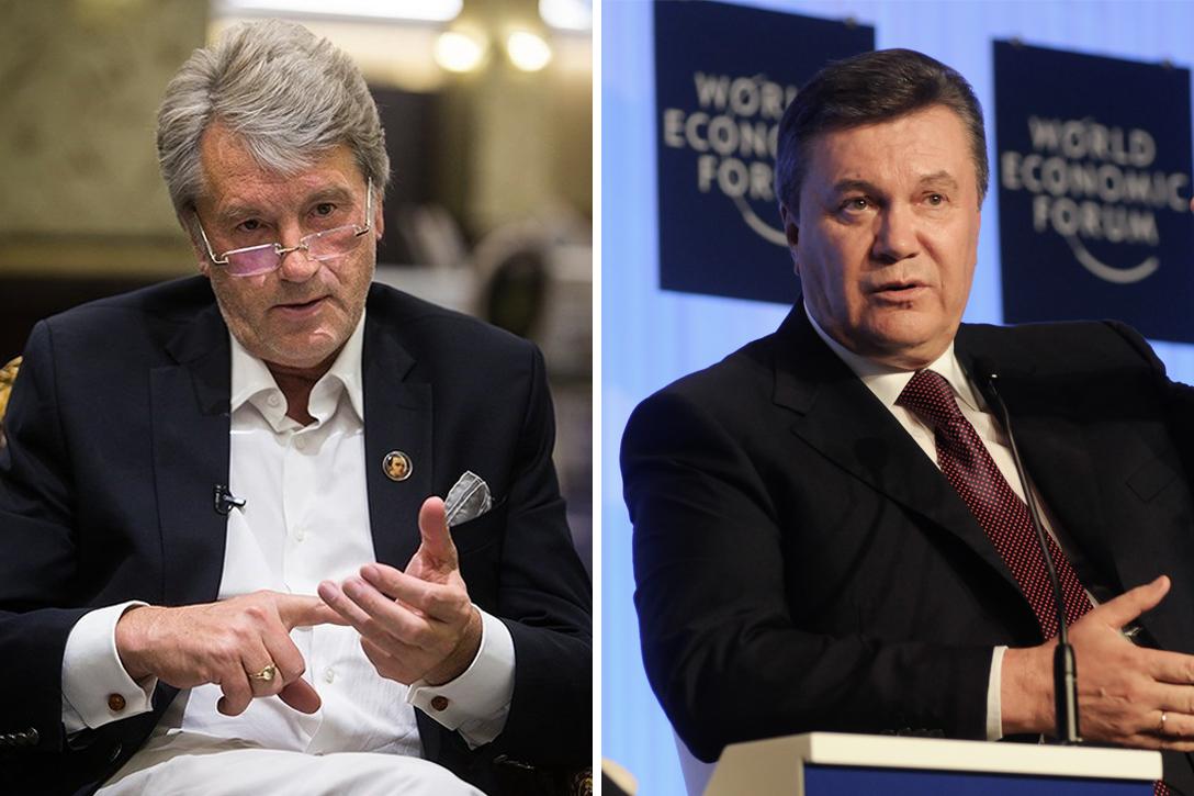 Viktor Yushchenko, Viktor Yanukovych