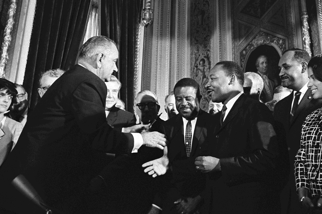 LBJ, MLK, Voting Rights Act