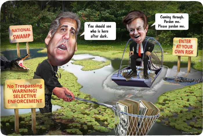 Michael Cohen, Paul Manafort, swamp